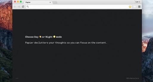 Papier: Jednoduché poznámky pro Chrome, které máte stále po ruce