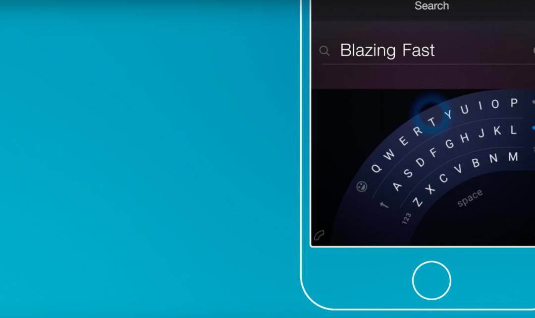 Microsoft představil klávesnici, díky které bude možné psát na iPhonu 6/s Plus jednou rukou