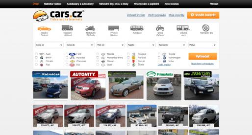 Vydavatelství VLP patřící Pentě kupuje server s automobilovou inzercí Cars.cz
