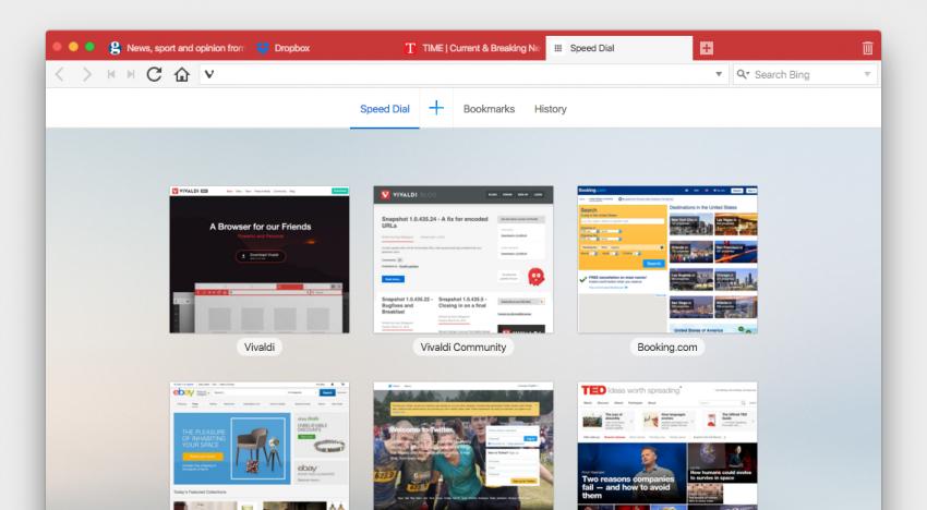 Takhle vypadá úplně nový webový prohlížeč od tvůrce kdysi populární Opery