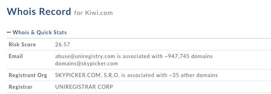 Kiwi.com-Whois
