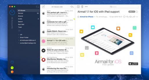 Airmail 3: nejlepší emailový klient pro Mac je tady v nové verzi