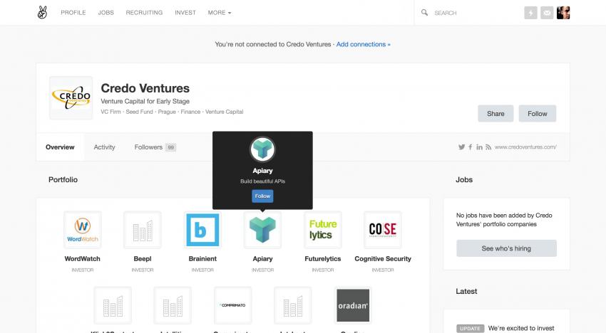 Portál AngelList spouští novou funkci, díky které propojí startupy s nejlepšími investory