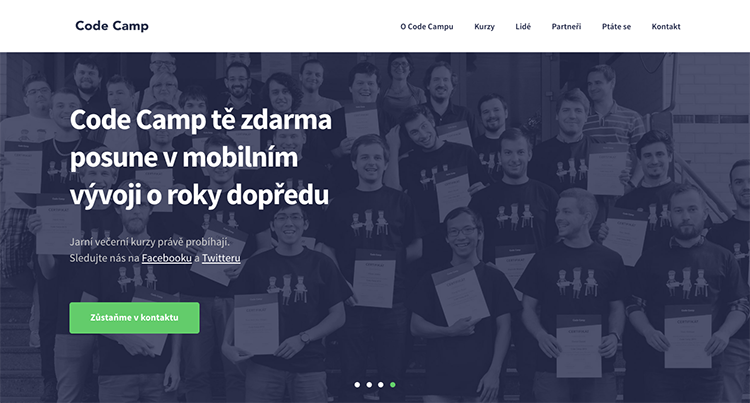 Jarní CodeCamp, který vás naučí programovat, míří do finiše a otevírá letní kurzy