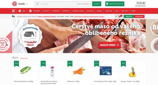 Rozvozová služba Kosik.cz míří mimo Prahu a nabídne rozvoz již za 3 hodiny od objednání