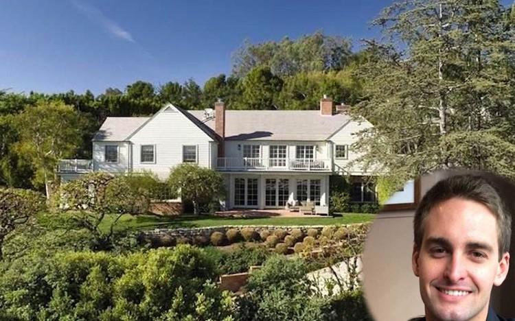 25letý zakladatel Snapchatu si koupil tento luxusní dům za 12 milionů dolarů