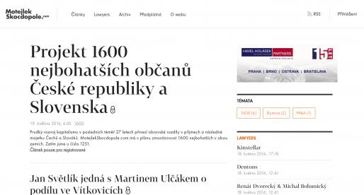 Motejlek.com opouští investor Ondřej Tomek. Zpět ho získávají Motejlek a Skočdopole
