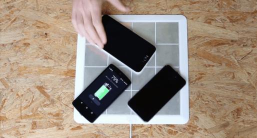 Energysquare: speciální podložka, která usnadní hromadné nabíjení telefonů a tabletů