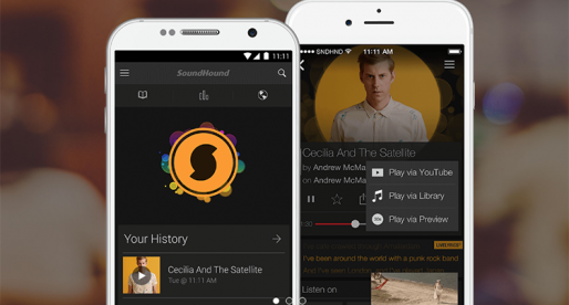 Populární aplikaci SoundHound jde nově ovládat hlasem