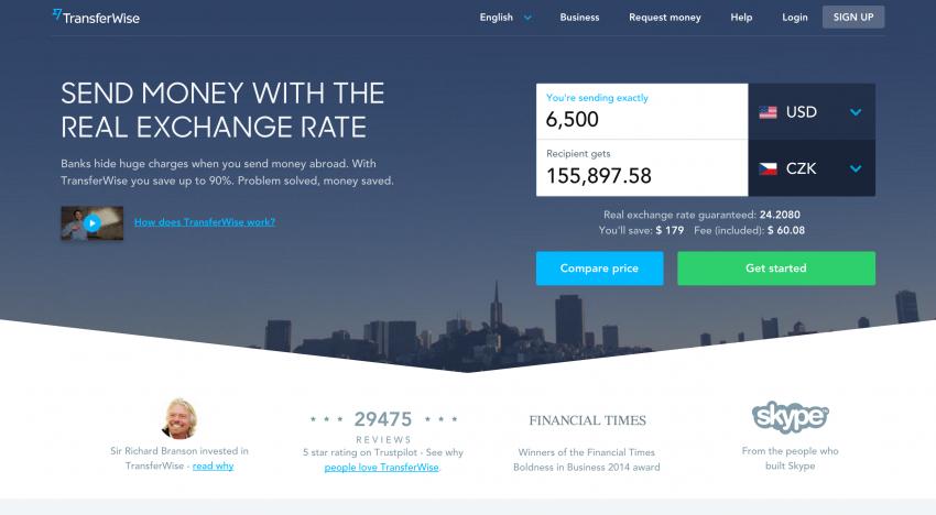 Online směnárna TransferWise se s novou investicí zařadila mezi miliardové startupy