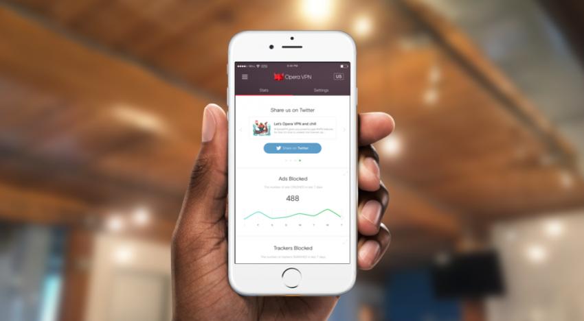 Prohlížeč Opera dostává pro iOS úplně zdarma funkci VPN