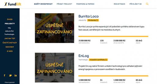 Tohle je další projekt, který si půjde pro 7 milionů korun na investiční platformě Fundlift
