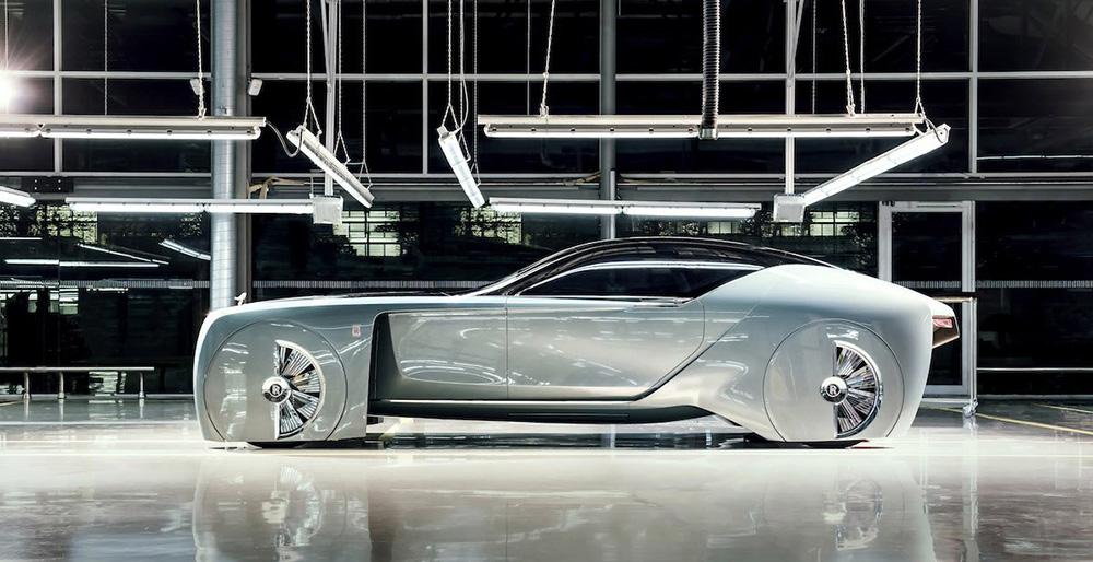 Toto je představa Rolls Royce o autonomním vozidle budoucnosti