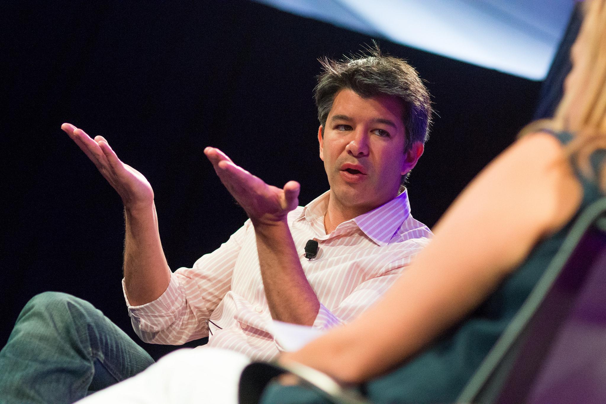 Bývalý CEO Uberu, Travis Kalanick.