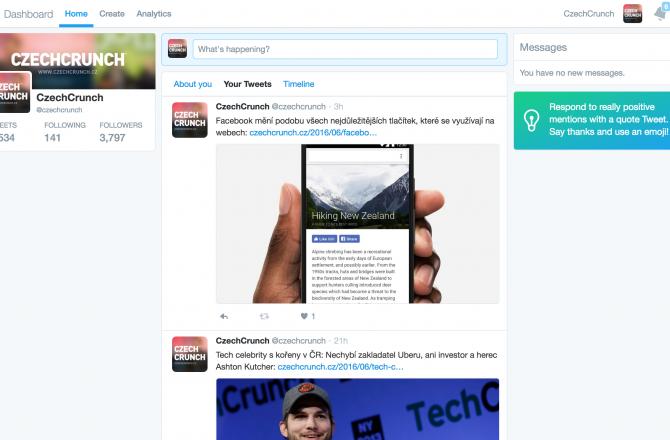 Twitter spustil vlastní nástroj pro pokročilé plánování a analýzu tweetnutých příspěvků