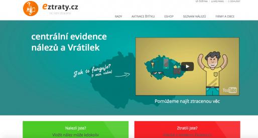 Eztraty.cz – nový projekt, který přináší chytrou databázi ztrát a nálezů