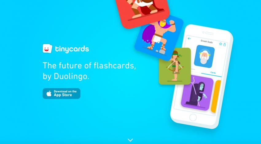 Tinycards: novinka od tvůrců populární appky na výuku jazyků Duolingo