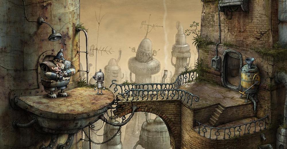 České vývojářské studio Amanita Design prodalo 4 miliony kopií hry Machinarium