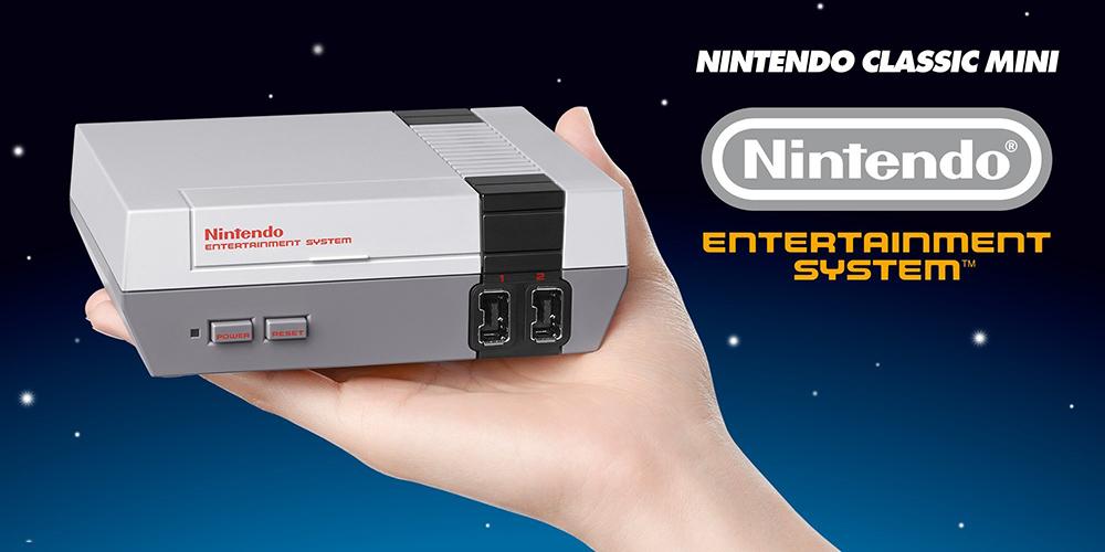 Nintendo na podzim vydá zmenšenou verzi legendární konzole NES se 30 zabudovanými hrami