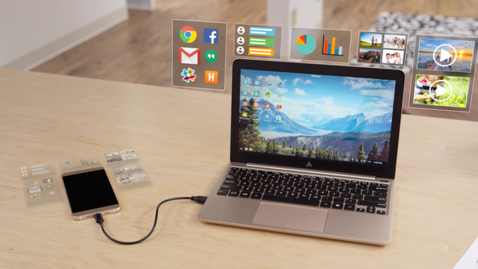The Superbook: novinka, která udělá za pár tisíc ze smartphonu plnohodnotný notebook