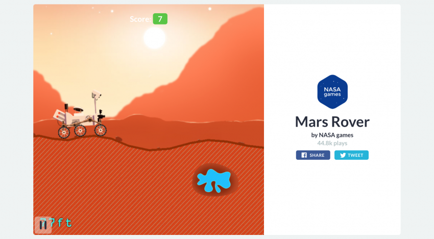Česká herní platforma Gamee od Cleevia vydala novou hru v přímé spolupráci s NASA