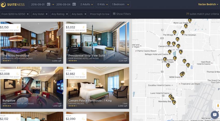 Tenhle startup umožňuje rezervaci nejlepších hotelových apartmá s platbou na splátky