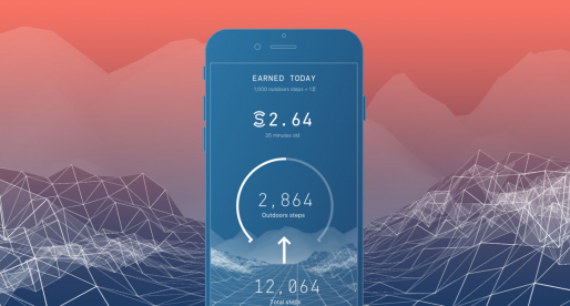 S touto aplikací si můžete nechat platit za každý krok, který během dne nachodíte