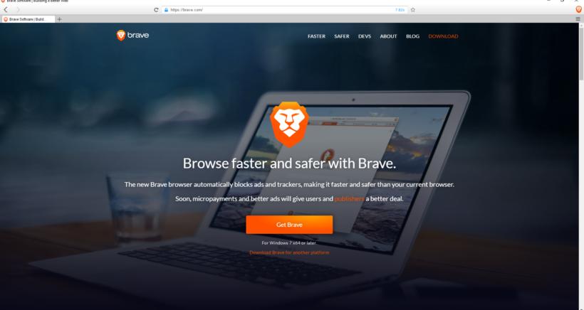 brave – web