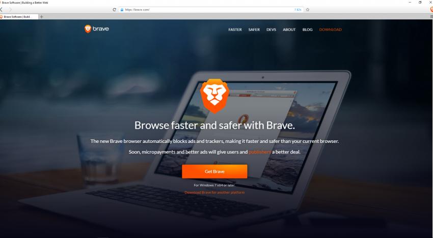 Nový prohlížeč Brave umí efektivně blokovat reklamy a přitom platí tvůrcům obsahu
