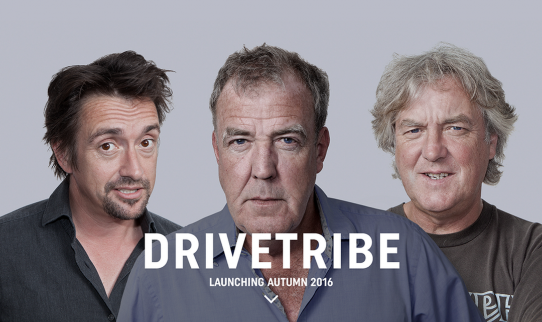Trio z automobilového pořadu Top Gear založilo svůj startup, který získal 12 milionů na investicích