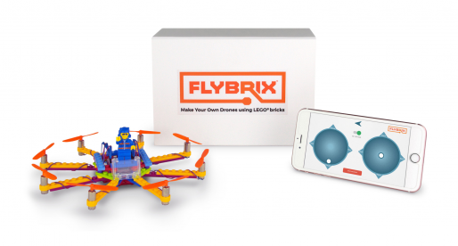 Díky tomuto startupu si můžete sestavit svůj vlastní funkční dron z kostiček LEGO