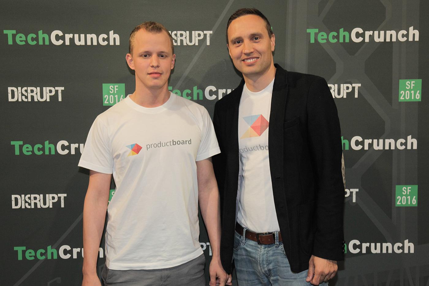 Zakladatelé ProductBoard: Daniel Hejl a Hubert Palan