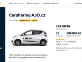 Carsharingový startup AJO.cz míří na Fundlift.cz, kde chce vybrat 3 miliony korun