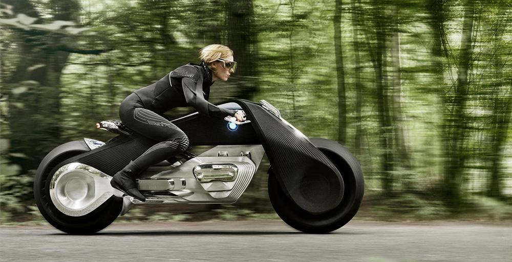 BMW představilo koncept elektrické motorky budoucnosti