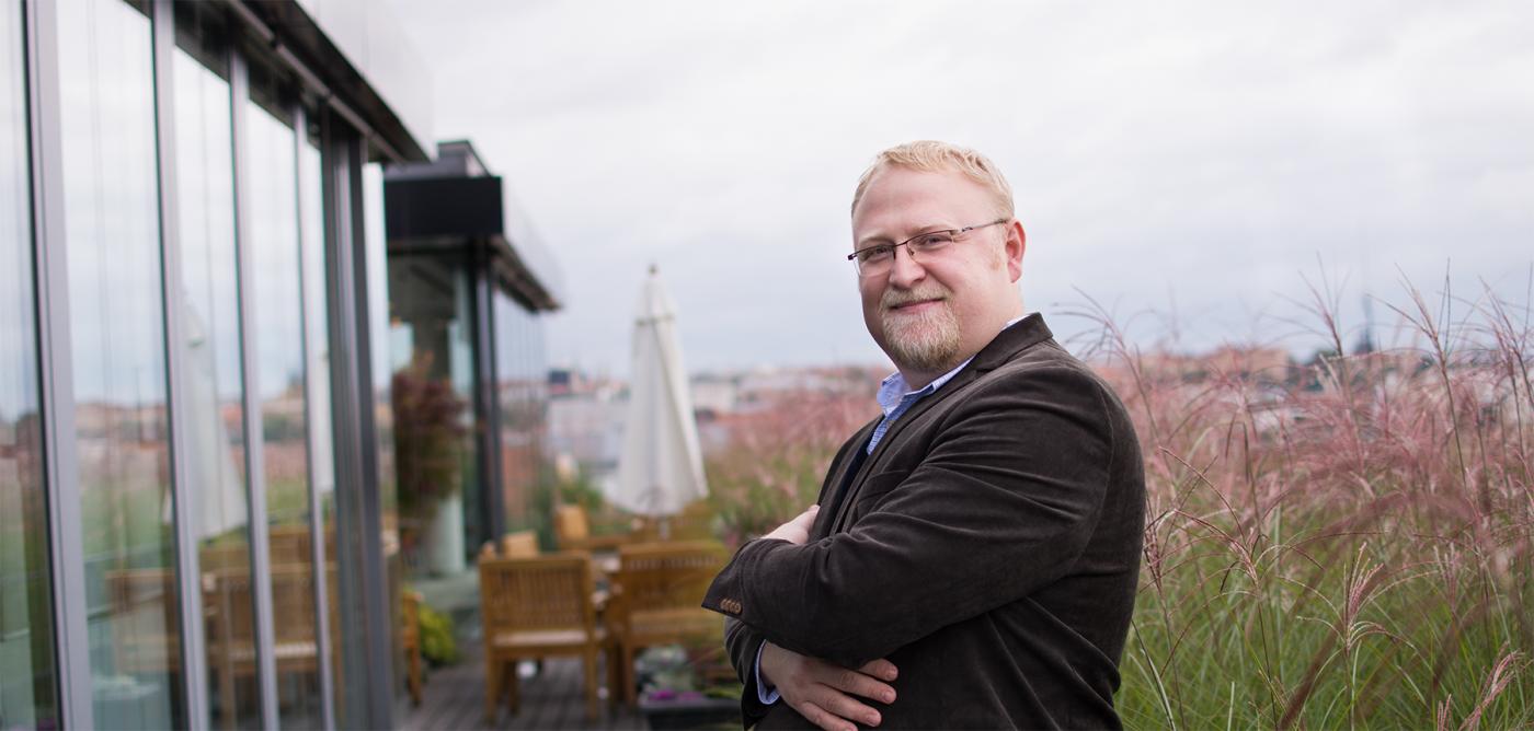 David Špinar, CEO skupiny Miton