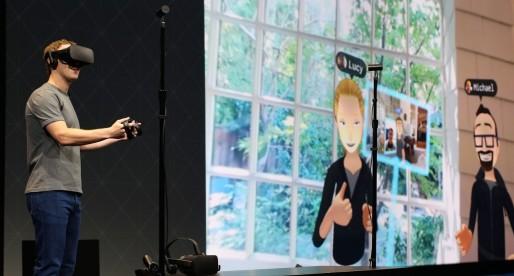 Facebook investuje do virtuální reality dalších 250 milionů a představil několik novinek