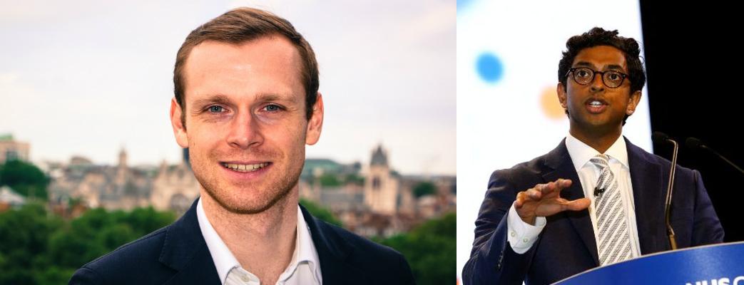 Zakladatelé startupu – Marek Sacha a Mahib Maruthappuo