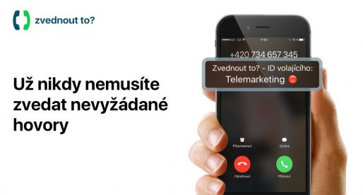 Zvednout to?: česká aplikace pro iPhone, která vás ochrání před telemarketingem a dalšími otravnými telefonáty