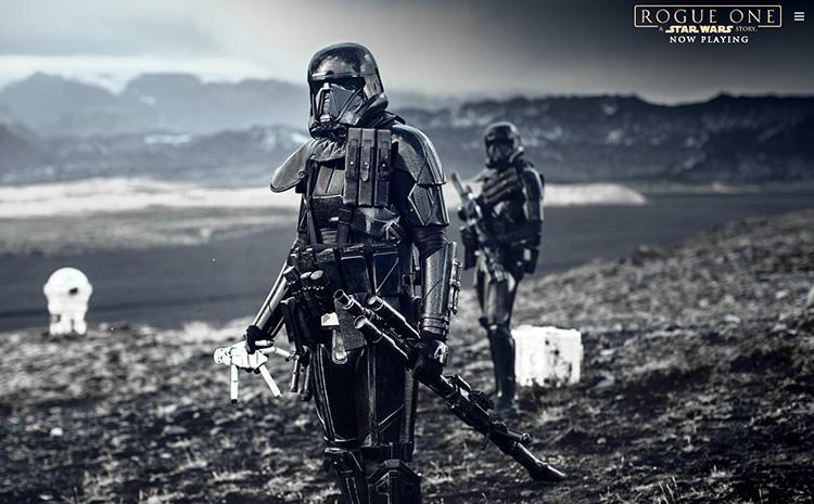 Nové Rogue One: Star Wars Story mají v prvních dnech vydělat přes 300 milionů dolarů