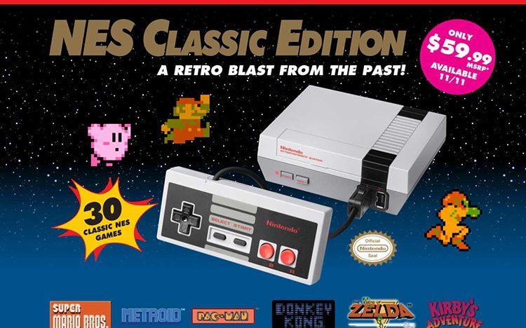 Znovuzrozená konzole NES Classic Edition láme prodejní rekordy
