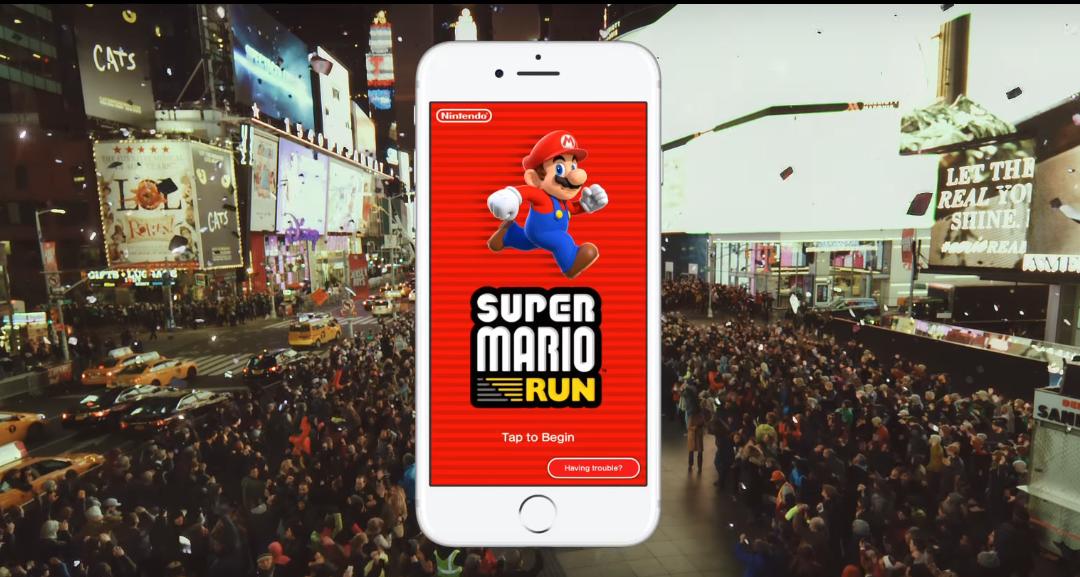 Dlouho očekávaná hra Super Mario Run láme na App Store rekordy