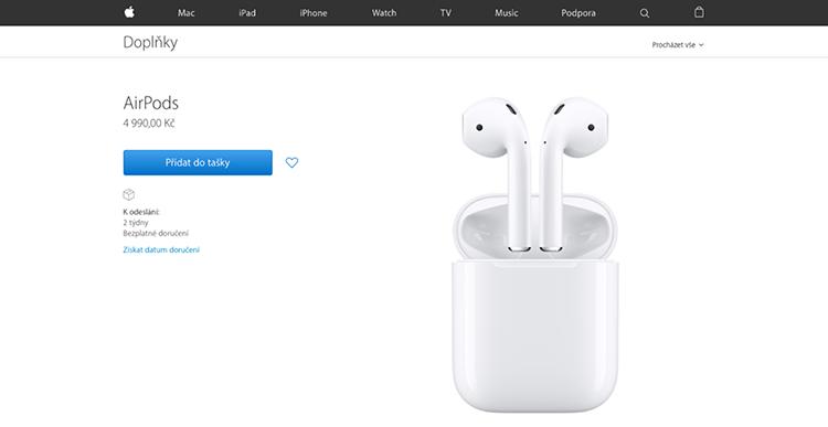 Tato aplikace vám najde ztracená sluchátka AirPods