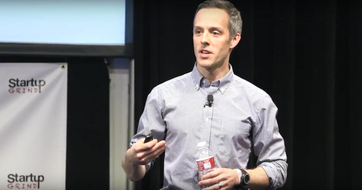 Jay Simons, prezident společnosti Atlassian (Startup Grind, 2014)