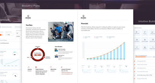 S tímto nástrojem si můžete během několika minut vytvořit interaktivní byznys plán