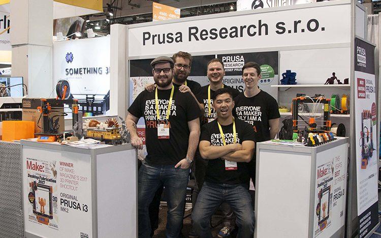 Český startup Prusa Research představil v Las Vegas novou technologii 3D tisku