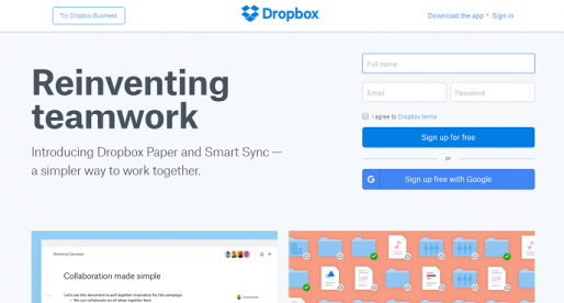 Dropbox vypustil nové funkce pro ušetření místa na disku a ulehčení spolupráce na dálku