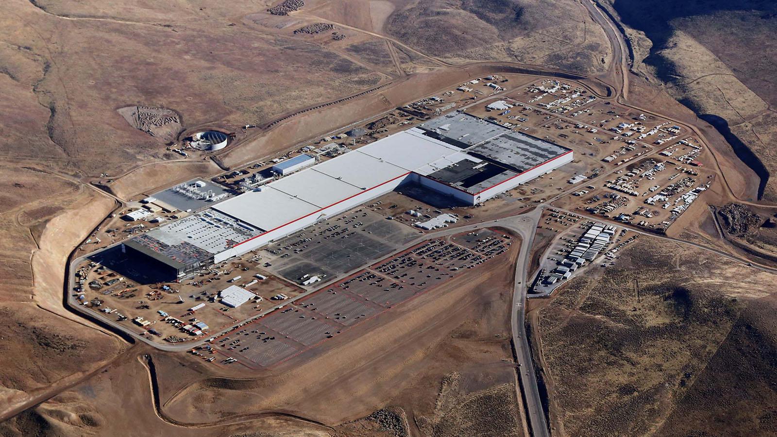 Aktuální podoba továrny
