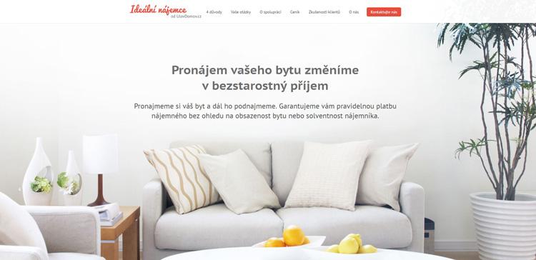 Brněnská služba IdeálníNájemce.cz po roce provozu expanduje do Prahy