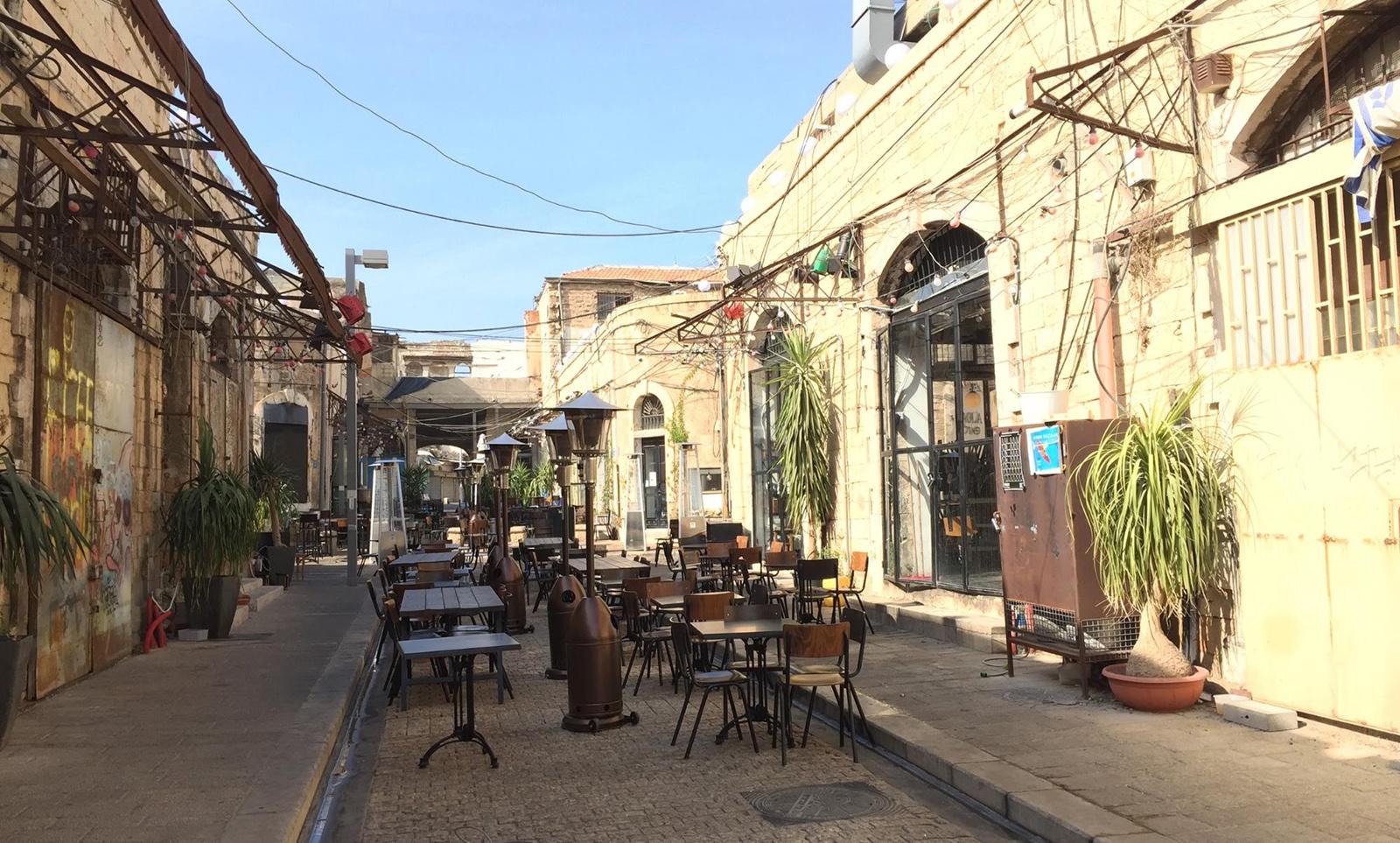 """""""Good enough"""" kávárna v oblasti Old Jaffa"""