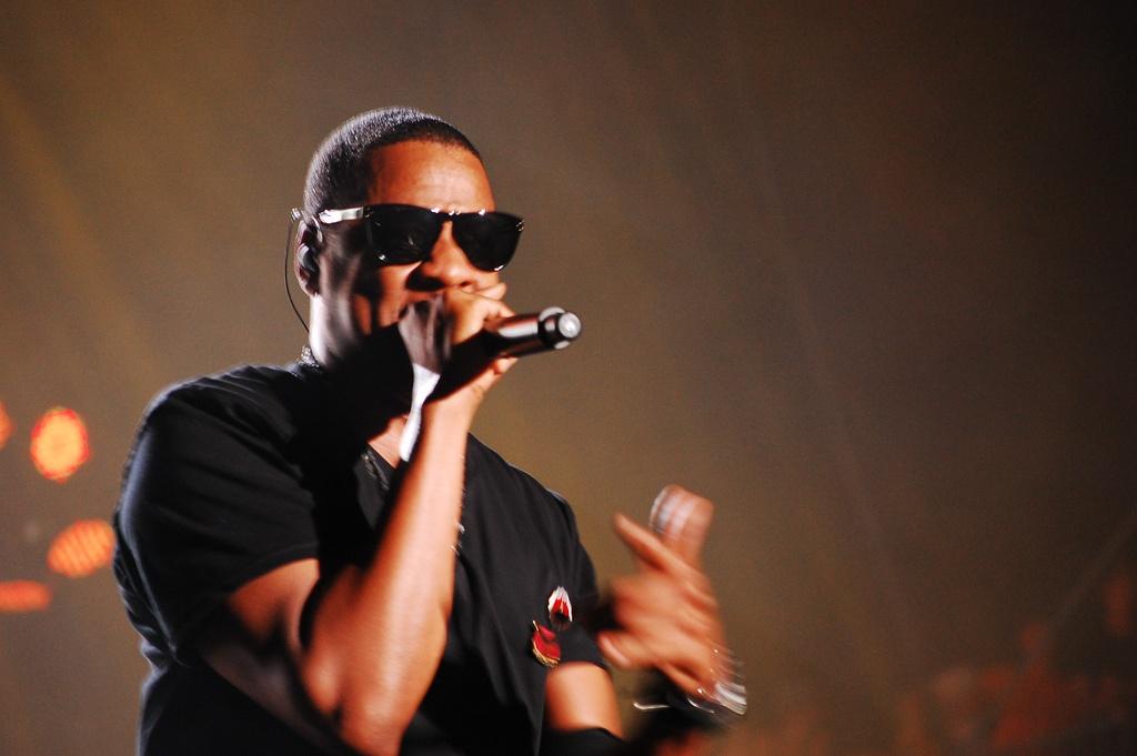 Jay-Z (2010), hlava služby Tidal, která k říjnu 2016 čítala 1,1 milionů platících uživatelů.